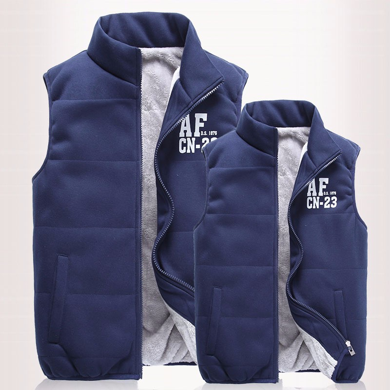 New-Mens-Jacket-Sleeveless-veste-homme-Winter-Fashion-Casual-Coats-Male-Hooded-Cotton-Padded-Men-s
