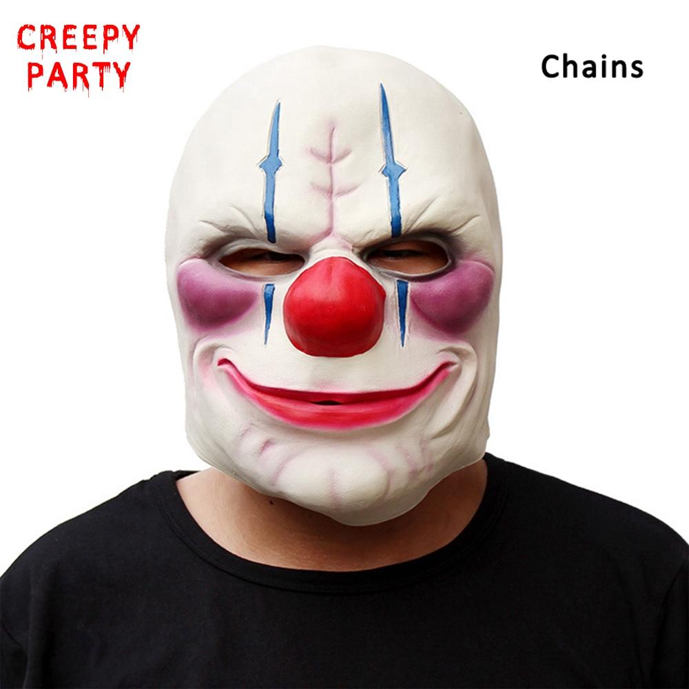 Horror Betaaldag 2 Masker Realistische Spelserie Latexmasker - Feestversiering en feestartikelen - Foto 5