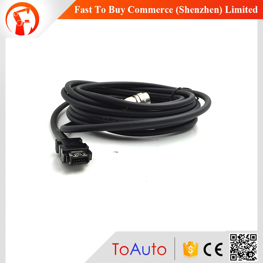 NEW MR-J3ENSCBL5M-L Compatible Mitsubishi Servo Encoder Cable 5M One Year Warranty new mr bks1cbl5m a1 l compatible mitsubishi servo brake cable 5m year warranty