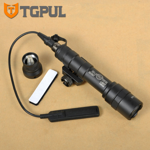 tgpul m600 serie m600b mini scout luz tatico led lanterna pistola luz caca ao ar