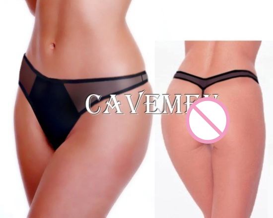 Transparent and non transparent combination *1466*Ladies Thongs Underwear Panties Briefs T-back Swimsuit Bikini Free Shipping