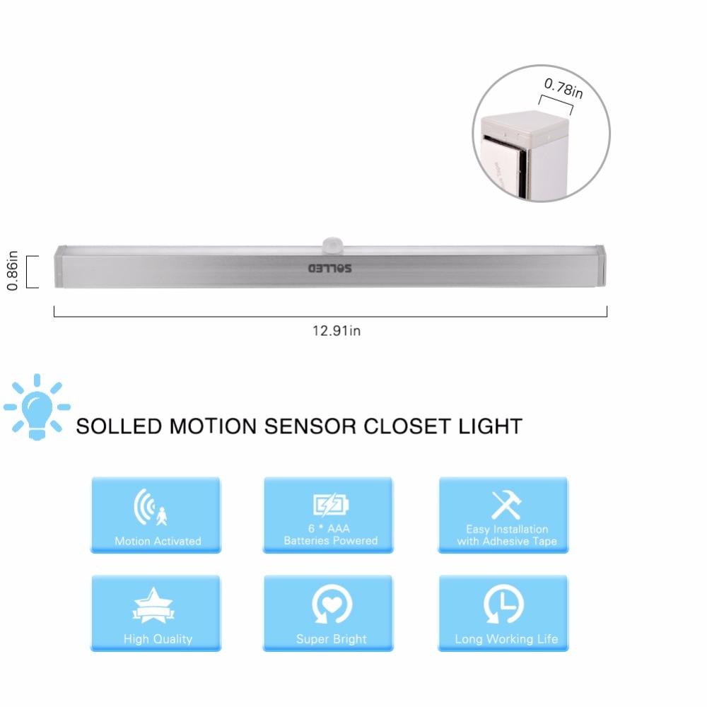 Adeeing 2019 modernizēts 20 LED IR infrasarkano staru kustības - Nakts gaismas - Foto 4