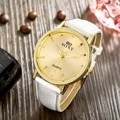 2016 Special Offer Real Men Fashion & Casual Watch Men's Vintage Simple Band Automatic Wrist Watch Fashion Casual Round Dial
