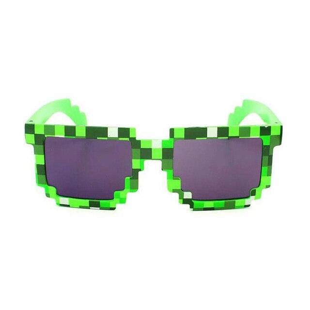 PVC Mode Meinen Wold Mosaiken Sonnenbrille Minecraft Gläser Spiel - Minecraft spiel spielen