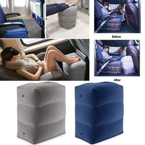 Image 1 - Almohada inflable de 3 capas para reposapiés de viaje, reposapiés para coche, cojín ecológico para coche y avión