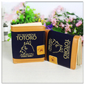 Brand New Totoro Canvas Short Wallets High Quality Purse Carteira Masculina Card Photo Holder Free Shipping
