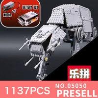 NEW LEPIN 05050 1137pcs AT AT The Robot Model Building Blocks Bricks Classic Compatible 10178 Boys