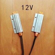 2pcs 12V 180C термостат PTC алюминиевый нагревательный с монтажным отверстием для мини-поверхность инструмента-изолированный
