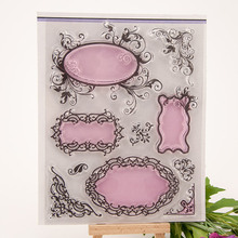 NCraft Clear Stamps N5024 Scrapbook Paper Craft Clear stamp scrapbooking