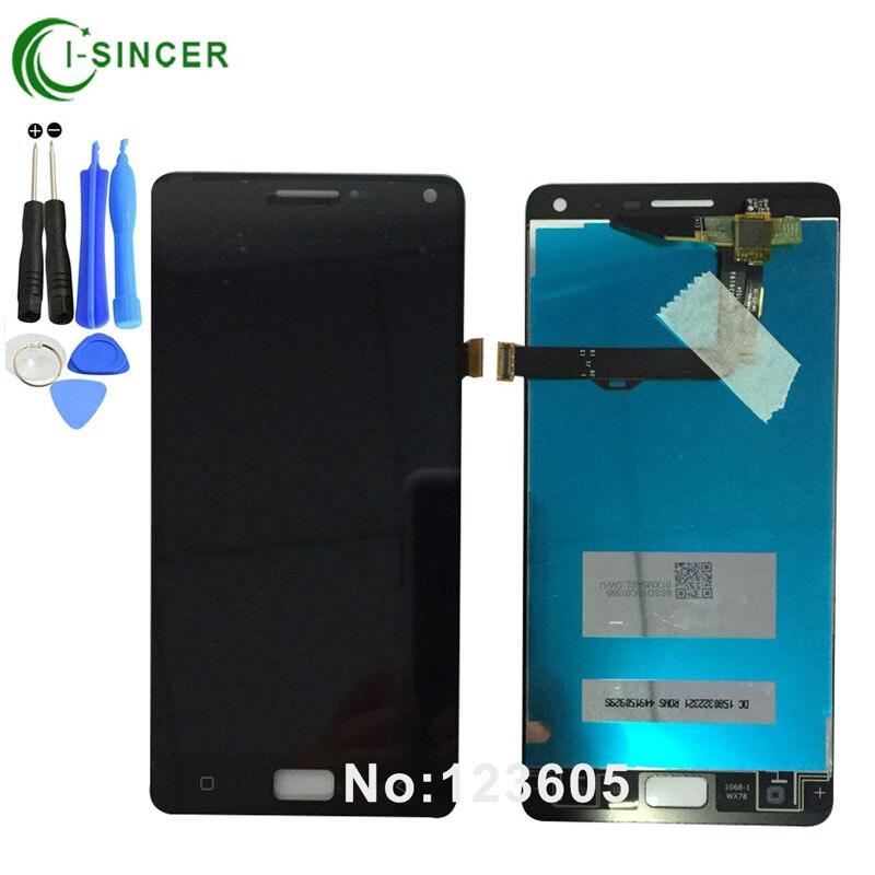 imágenes para 1/PC Negro, Blanco Pantalla LCD Para Lenovo VIBE P1 P1 Pantalla LCD con Pantalla Táctil Digitalizador Asamblea + herramientas