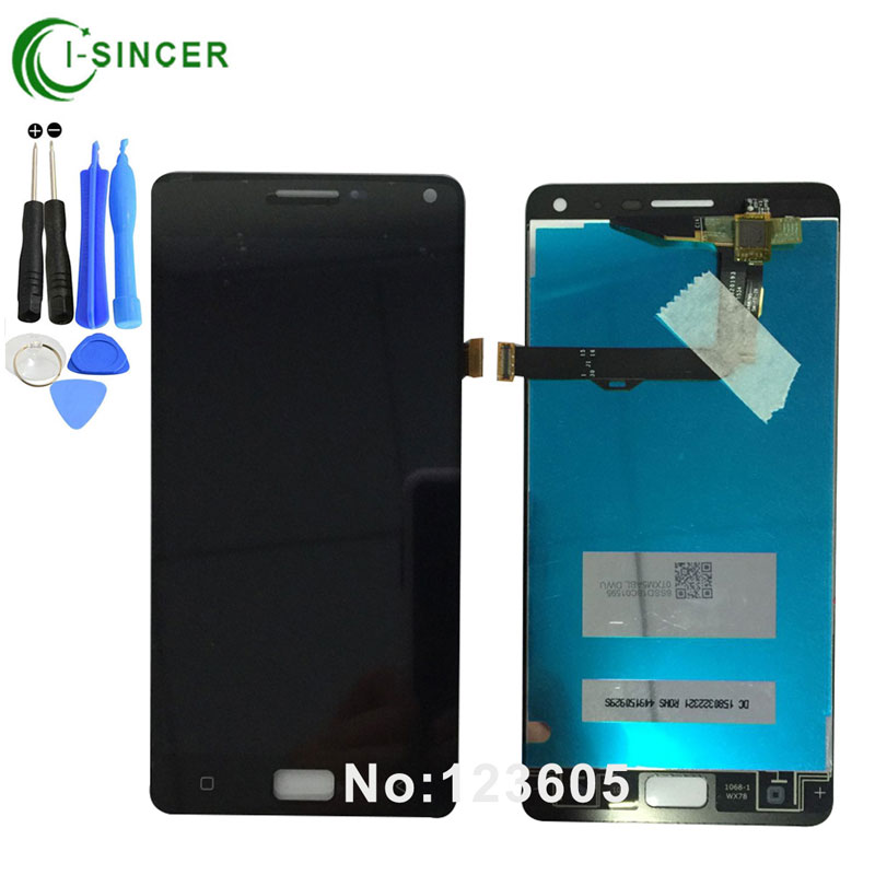 1/PCS Black,White P1 LCD Display For Lenovo VIBE P1 LCD Screen with Touch Screen Digitizer Assembly +tools