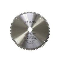 TCT Circular Saw Blade Wheel Discs TCT Alloy Woodworking Multifunctional Saw Blade For Wood Cutting 250x30MM 80 Teeth