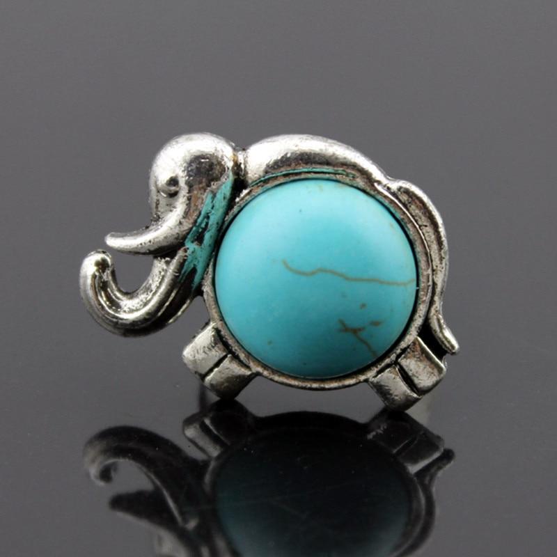 Tibet Silver Color Elephant Rings Lovely Animal Rings Fashion Trend Finger Rings Women Best Friends Gift Black Friday