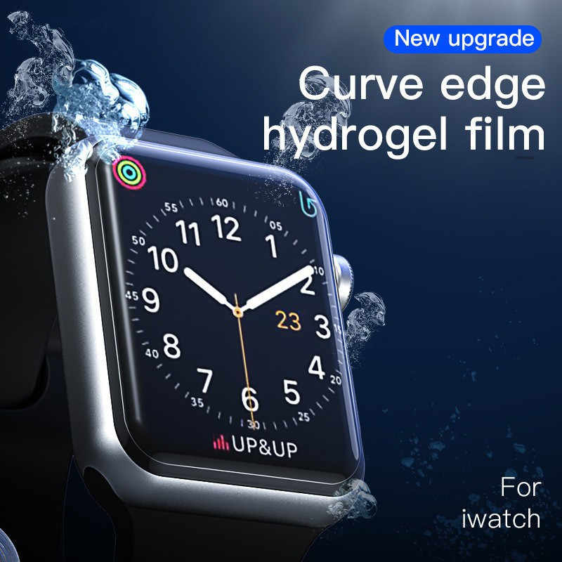 Screen Protector For Apple Watch Full Cover Soft Premium Protective Film For IWatch Series 4 3 2 1 40mm 44mm 38mm 42mm Dropship