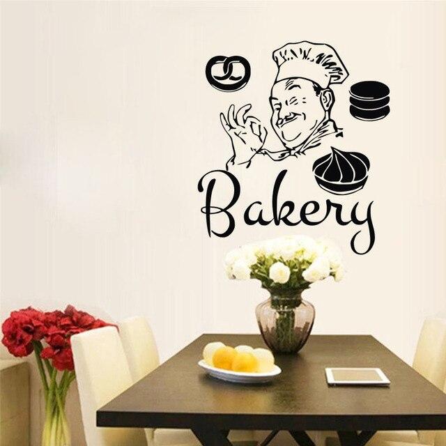bakery chef barang dekorasi rumah dekorasi dinding stiker untuk