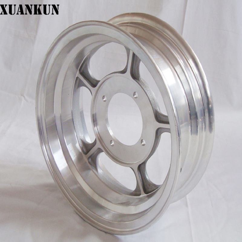 XUANKUN Monkey Small Monkey Motorcycle Rims Modified 3.50 / 4.50-10 Inch Aluminum Alloy Vacuum Wheels xuankun monkey bike small monkey off road motorcycle modified oil cooler 4 layer color screw