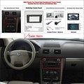 Para Volvo XC90 2002 ~ 2014 Kit de Placa de Tablero 2 DIN de Radio Del Mercado de accesorios de Plástico ABS Marco Fascias Panel de Audio Del Coche Fascia