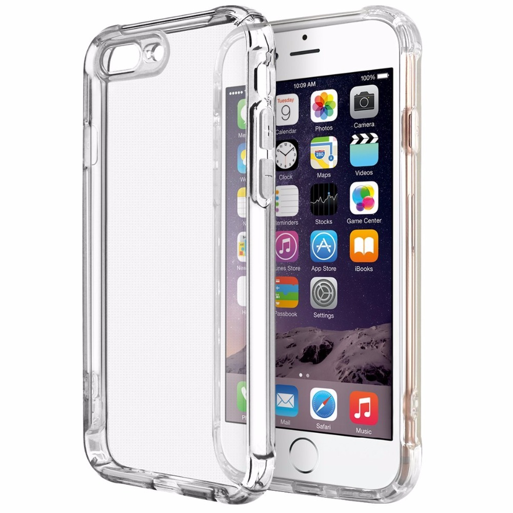 clear shockproof iphone 8 plus case