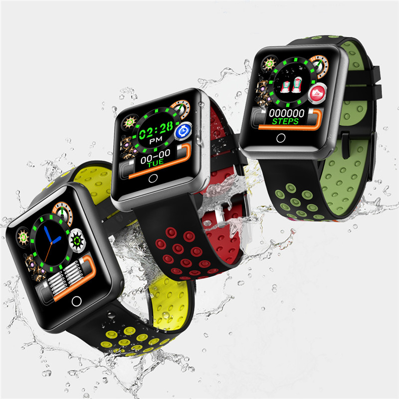 купить Q18 Sport Smart Bracelet Watch Blood Pressure heart rate monitoring fitness tracker bracelet pedometer waterproof smart bracelet недорого