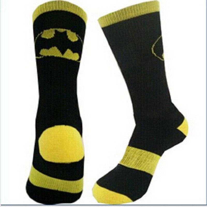 2017 Special Offer Standard Casual Men Socks New Fashion Super Hero Series Batman/superman For Cartoon Socks Men Cotton For