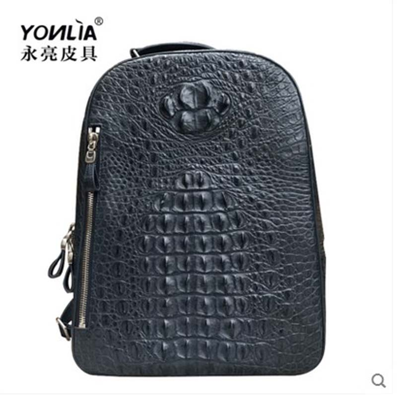 yongliang New crocodile leather leather fashion models large size men and women common models shoulder bag yongliang 2017 new crocodile leather belly single shoulder men handbag crocodile leather crossbody fashion all match men bag