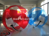 Free Shipping German Zipper 2m 0.8mm Inflatable Water Walking Ball Zorb Ball Giant Water Ball Human Hamster Ball