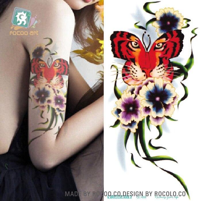 1081fd4c7d604 ٩( ‿ )۶Imperméable à l eau de tatouage personnalisé couleur Sirène ...