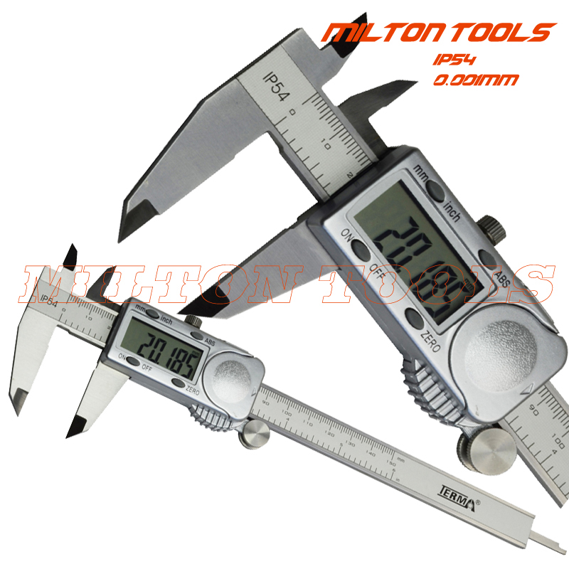 Terma Accuracy IP54 water proof 0 005mm 150mm 6inch digital vernier caliper micron electronic caliper thickness