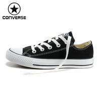 100 Genuine Classic Men S Shoes Converse Canvas Shoes To Help Low Converse Shoes Women Canvas