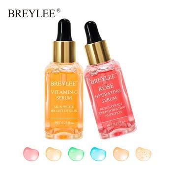 BREYLEE 2pcs Vitamin C Whitening Serum Brighten Lifting Firming Fade Dark Spots Moisturizing Anti Aging Wrinkle