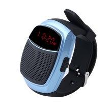 Дешевые B90 Смарт часы Bluetooth Динамик Секундомер Будильник Спортивные музыка часы Hands-free FM радио автоспуска анти -потерянный сигнал тревоги