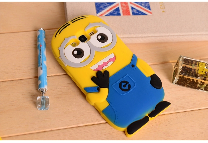18b54903312 Cute Minions Fundas Case For Samsung Galaxy S3 Neo S4 S5 Mini S6 A3 ...