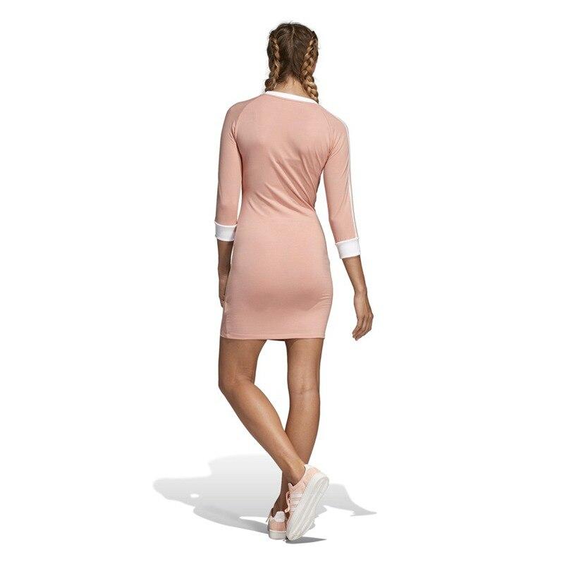 Nouveauté originale Adidas Originals robe 3 rayures robe femme Sportswear - 2