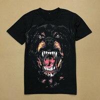 2018 New Short Sleeve Tee Shirt 3D Dog Printed T Shirts Men Classic O neck Loose Summer T shirt for Mens Casual Tshirt Homme B81