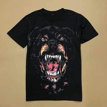 2019 New Short Sleeve Tee Shirt 3D Dog Printed T Shirts Men Classic O-neck Loose Summer T-shirt for Mens Casual Tshirt Homme B81 - DISCOUNT ITEM  15% OFF All Category