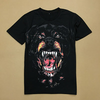 2019 New Short Sleeve Tee Shirt 3D Dog Printed T Shirts Men Classic O neck Loose Summer T shirt for Mens Casual Tshirt Homme B81