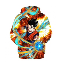 Anime Dragon Ball Z Goku pullovers Hoodie 3D Printed Sweatshirts