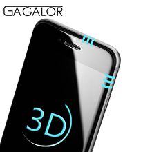 GAGALOR real 3D Toughened Arc edge Curved Full Cover Tempered Glass Screen Protector 9H for iPhone