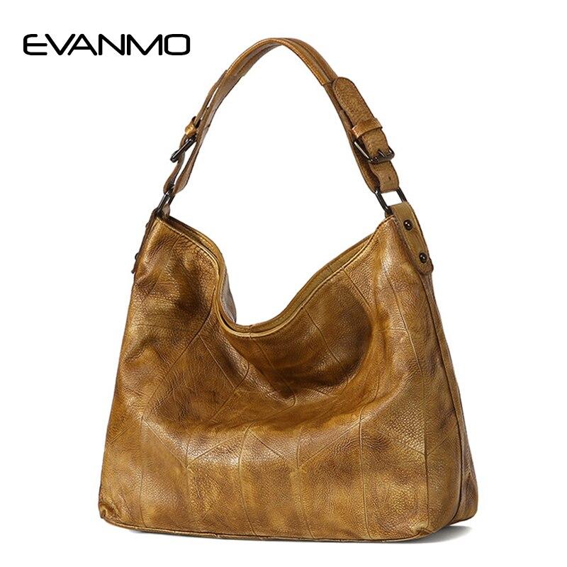 Бренд Дизайн для женщин сумка ретро пояса из натуральной кожи Новое поступление 2018 года специальные Хобо сумки коровьей