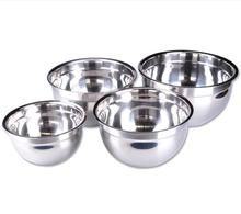 Kitchen bar Tableware Bowls thick stainless steel cold mixing salad bowl free shipping