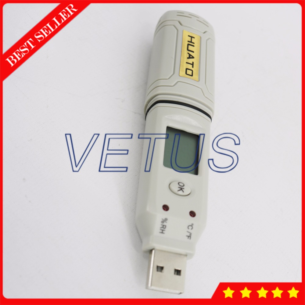 2 in 1 USB Temperature Humidity Datalogger 4,3000 Storage Meter with HE173 Digital Thermometer Hygrometer Data Logger new usb temp temperature humidity datalogger data logger record meter 40 70c