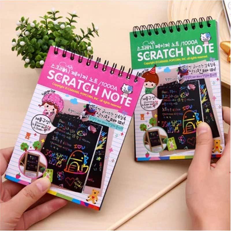 Kids-Stationery-Notebook-Scratch-Journal-Wooden-Stylus-Scratch-Paper-Note-Drawing-Educational-Toys-Random-Color-Z322-F-5