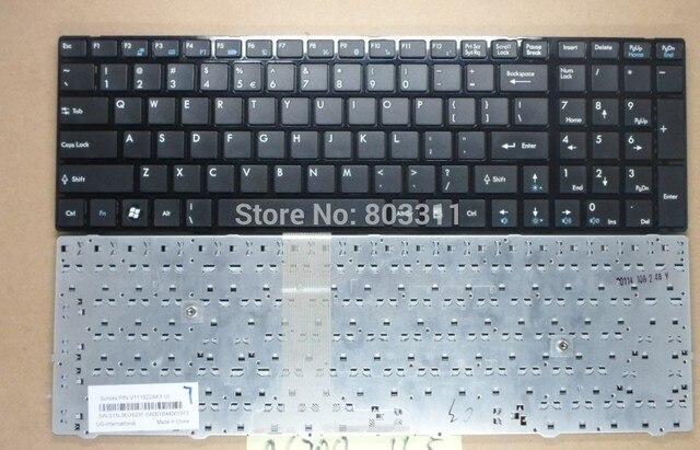 Новый ноутбук клавиатура для MSI GT660 A6200 S6000 CR620 CR720 Услуги черная клавиатура для ноутбука с рамкой