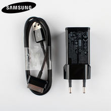 Original Tablet Charger ETA-P11X For Samsung Galaxy Tab 2 Tablet 7/8.9 /10.1 P7500 P7510 P1000 P6800 P7300 P6200 Tablet Charger usb charger data cable charging cord 1m black for samsung galaxy tablet p1000 p3100 p3110 p5100 p5110 p6800 p7300