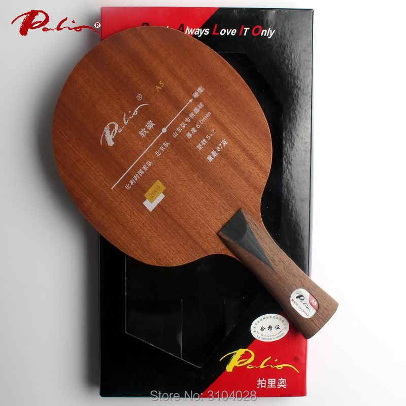 Palio official A-5 A5 table tennis balde carbon special for shandong team beijing team belgium national team loop fast attack