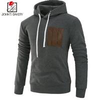 John S Bakery Brand 2017 Hoodies Brand Men Pocket Design Sweatshirt Male Hoody Hip Hop Autumn