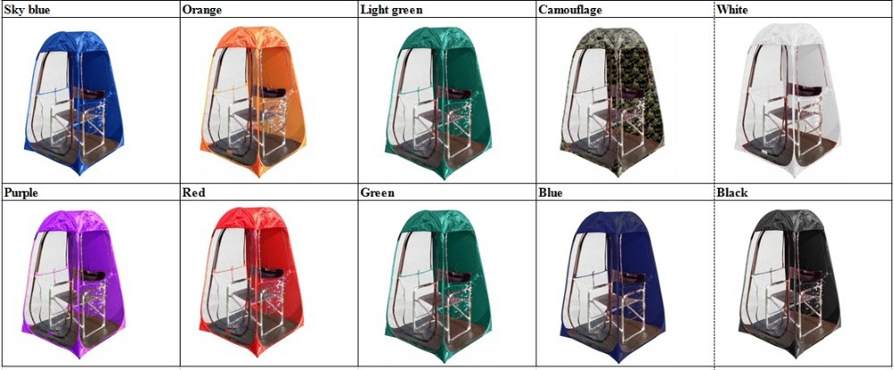 Outdoor rainproof single person Private sun shade insulation watching sports pop up tent/Keep warm pop up portable PVC tent-in Tents from Sports ...  sc 1 st  AliExpress.com & Outdoor rainproof single person Private sun shade insulation ...