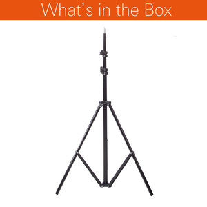 Image 2 - Godox Ajustable 302 2m 200cm Light Stand with 1/4 Screw Head Tripod for Studio Photo Vedio Flash Lighting