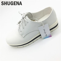 A Free Shipping Genuine Leather Autumn Women Casual Shoes Wedge Shoes Women Casual Black Shoes Height