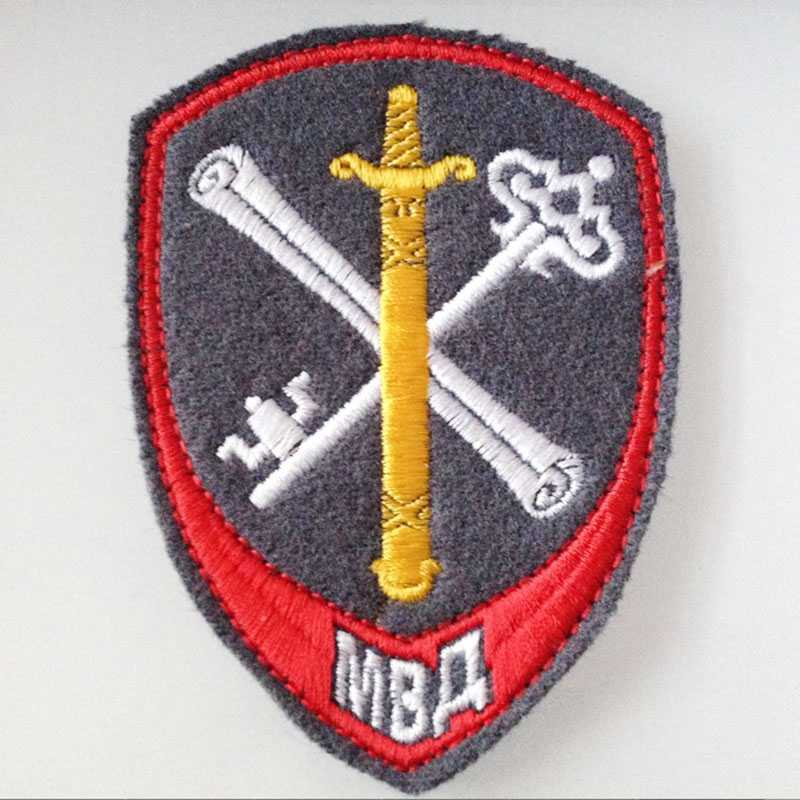 Original Russia Rare Home Office Embroidery Patches Tactical Morale  Military Armbands Jacket Patches